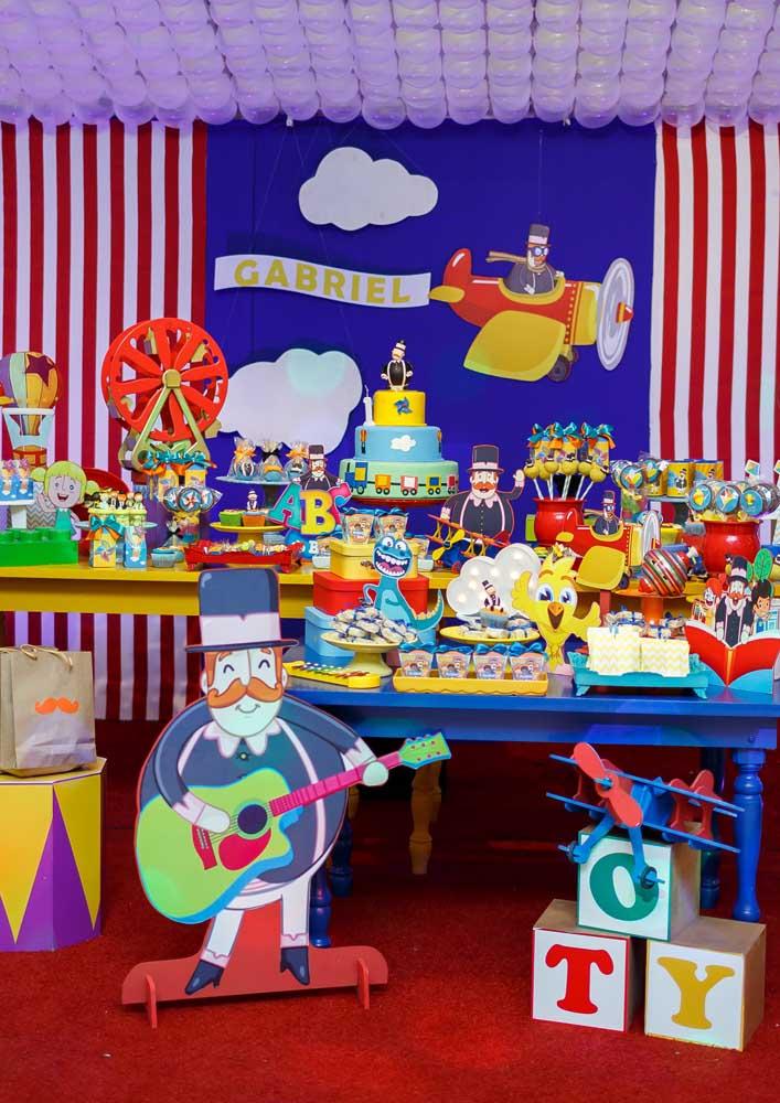 Existem vários sub-temas que você pode usar na hora de decorar a festa com o tema Mundo Bita.