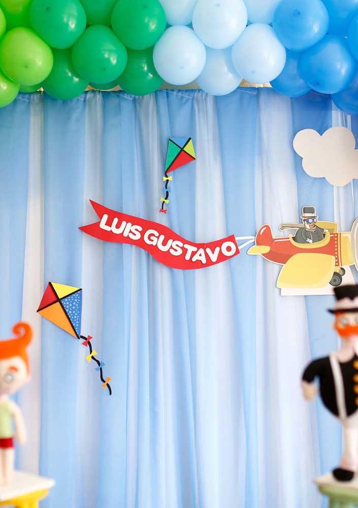 Com muita criatividade é possível fazer uma festa Mundo Bita simples, mas cheia de amor.