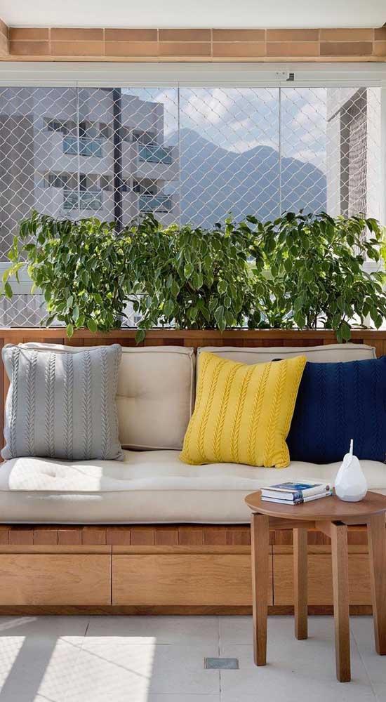 Transforme a rede de proteção em um suporte para suas plantas trepadeiras