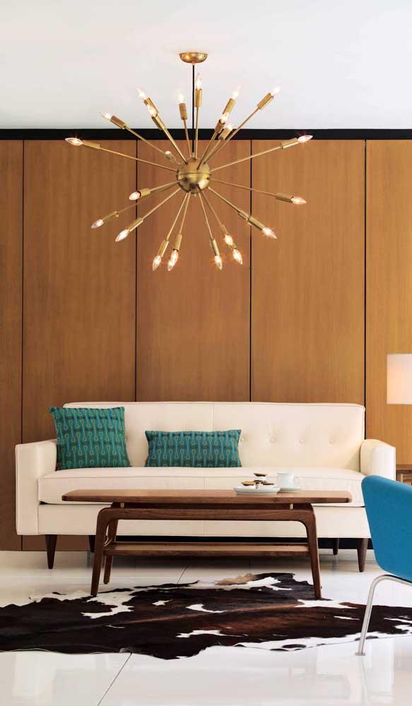 O modelo perfeito de sofá retrô para decorações clássicas e elegantes
