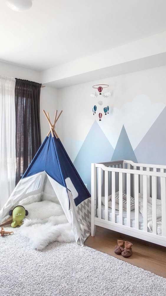 Em tempos de apartamentos e casas pequenas e sem quintal, a cabaninha pode ser tudo o que seu filho precisava para se divertir