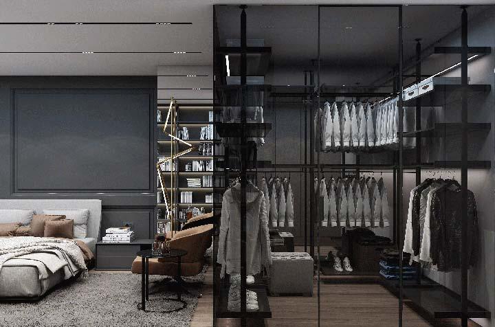 Closet masculino: como montar, organizar e 60 fotos de ambientes
