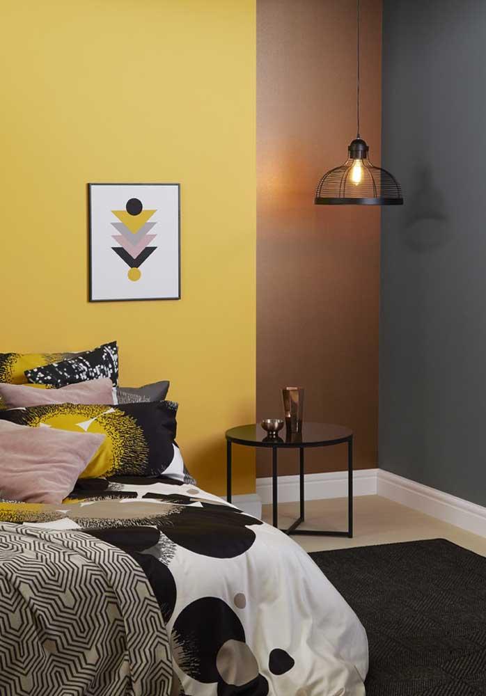 O que acha de pintar uma parede de cada cor?
