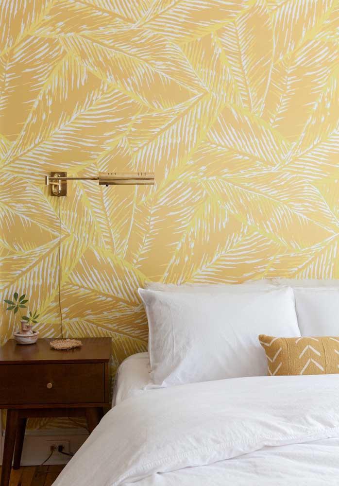 Já imaginou decorar seu quarto com esse tipo de papel de parede?