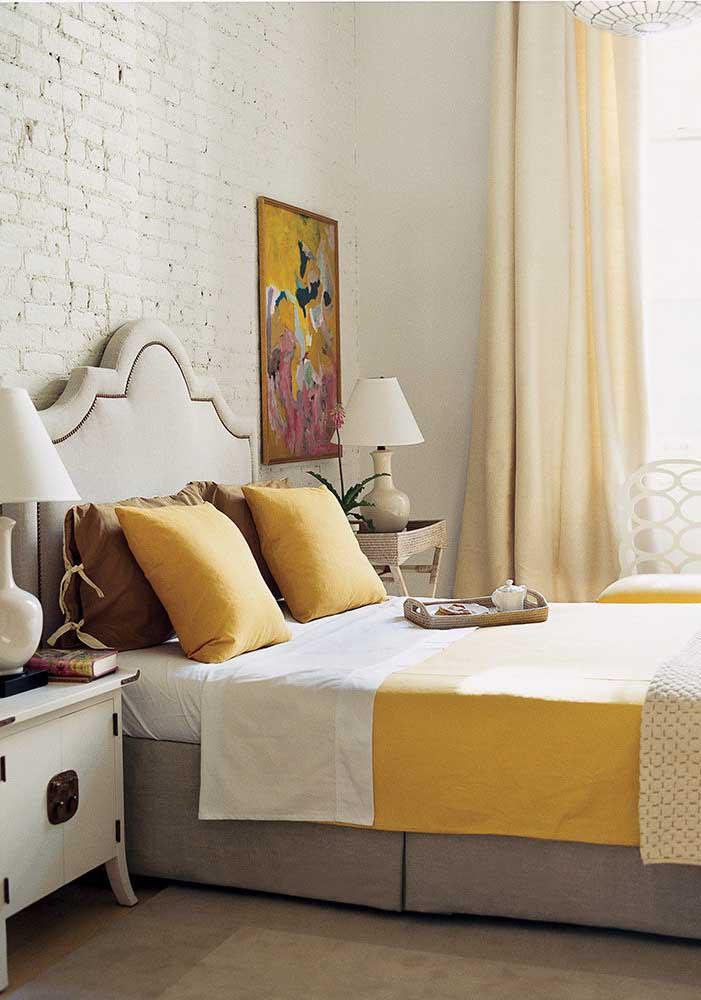 Você já sabe que tom de amarelo vai usar na sua decoração?
