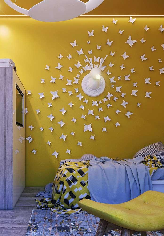 Basta usar a criatividade na hora de escolher os objetos decorativos e combinar com a cor principal.