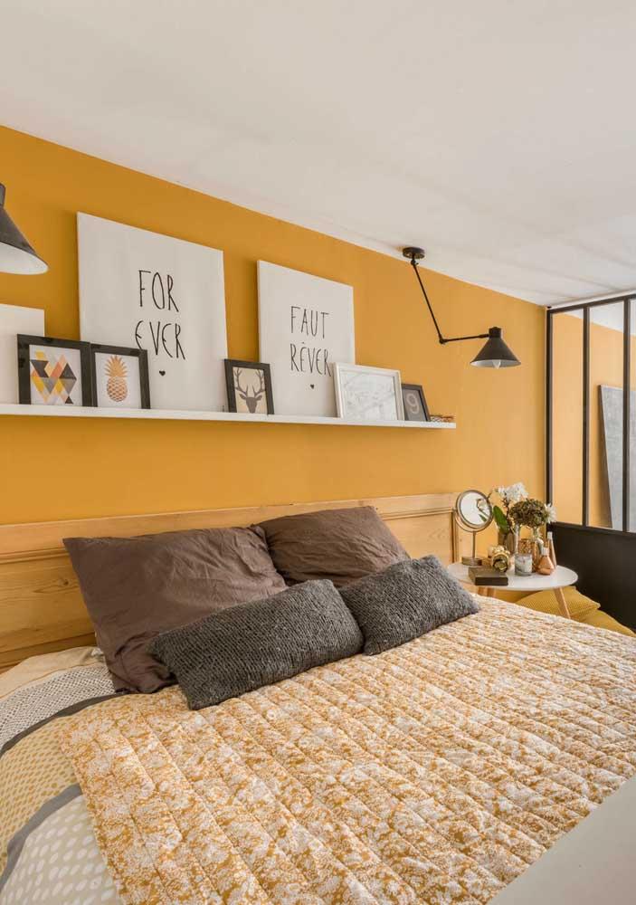 O tom de amarelo mais suave pode ser a cor que você estava procurando para decorar o seu quarto.