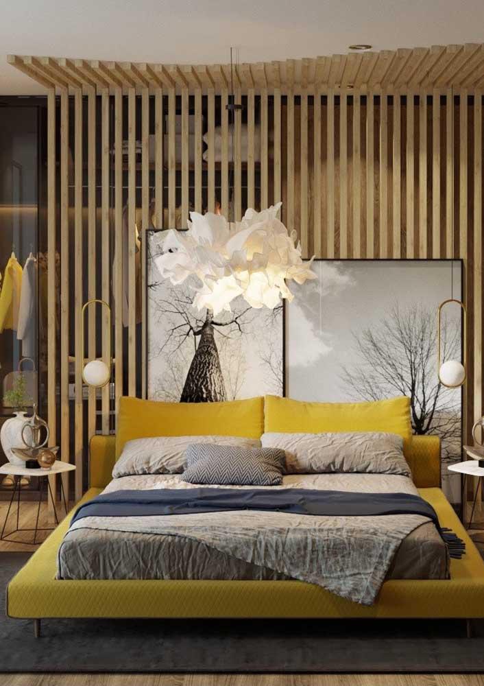 Capriche na decoração do seu quarto, afinal esse é o seu espaço para relaxar depois de um dia intenso de trabalho.