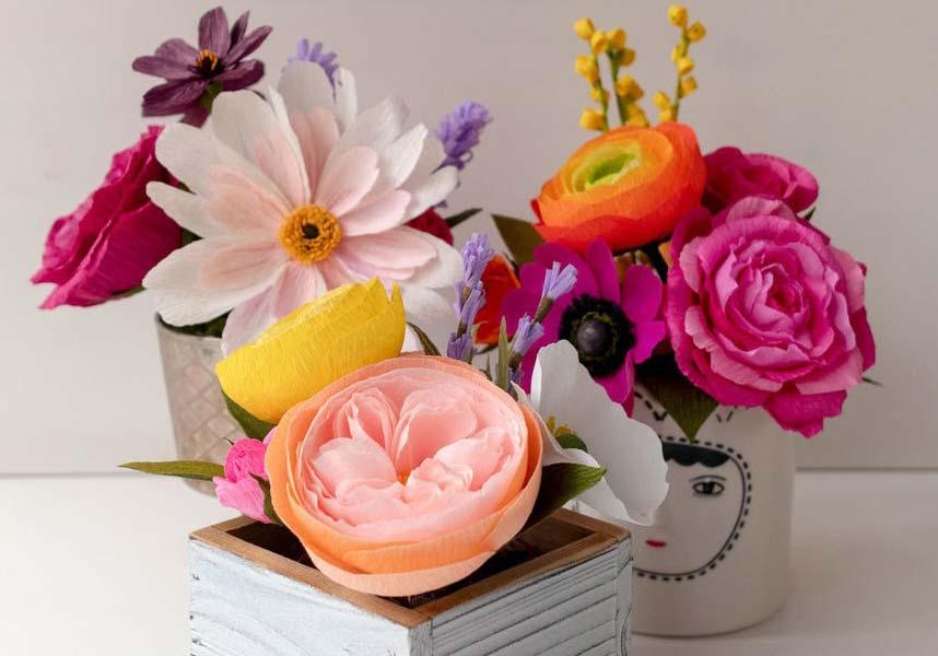 Rosa de papel: veja como fazer e 60 ideias criativas