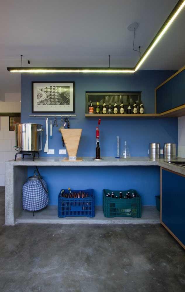 Bar e cozinha podem conviver em perfeita harmonia