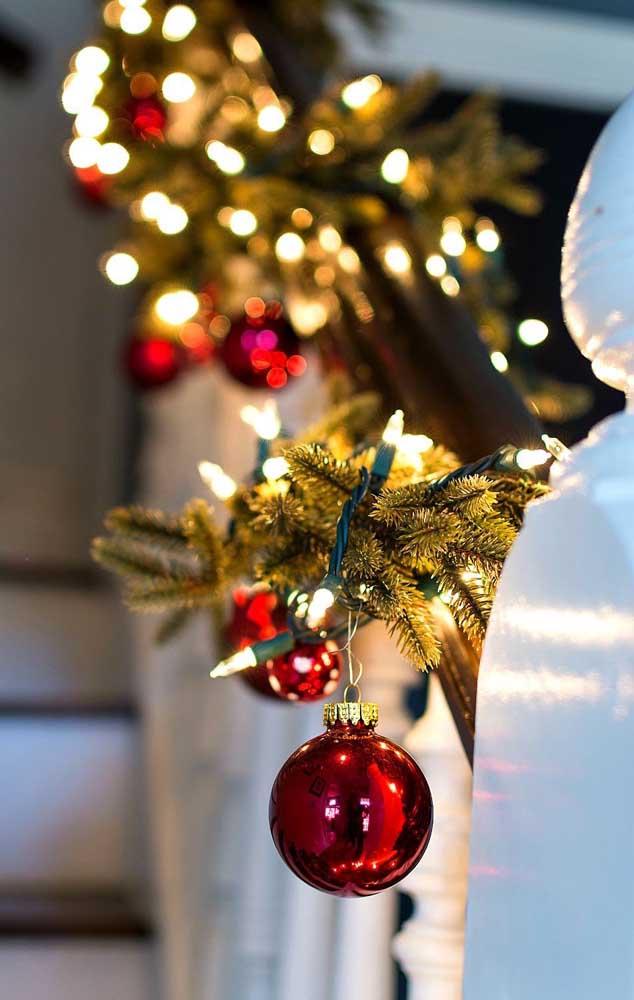 Bolas e luzes de natal: a época mais bonita do ano está chegando!