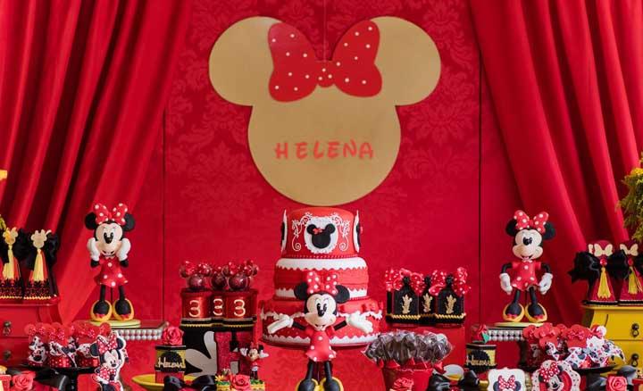 Festa Minnie vermelha: como organizar, dicas e 50 fotos de decoração