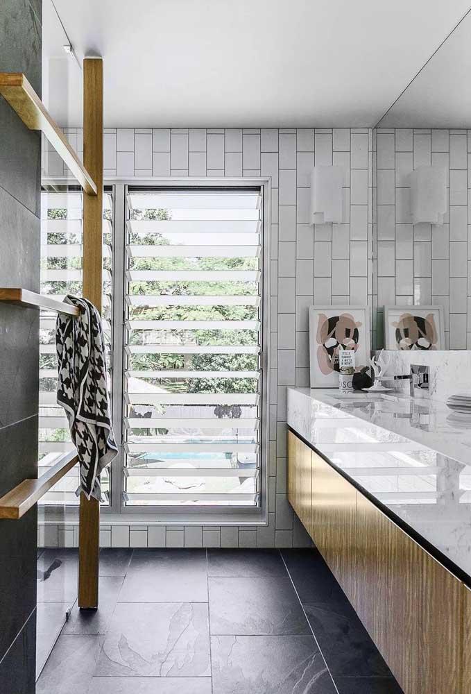 Janela Para Banheiro Tipos Dicas E 60 Fotos Inspiradoras