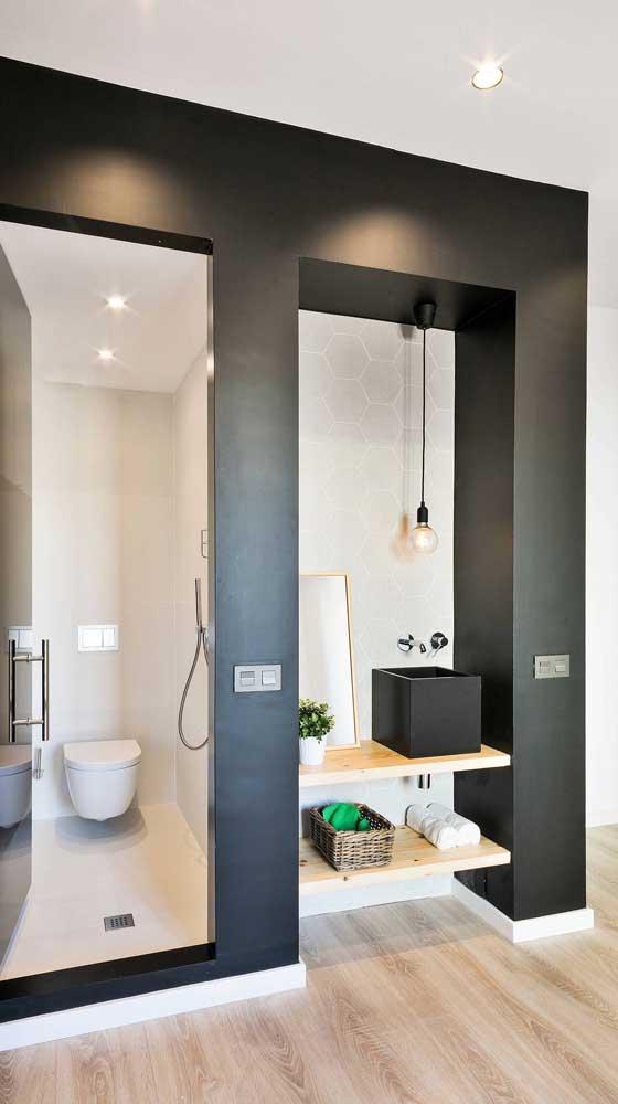 Luminária pendente sem cúpula para o lavabo moderno