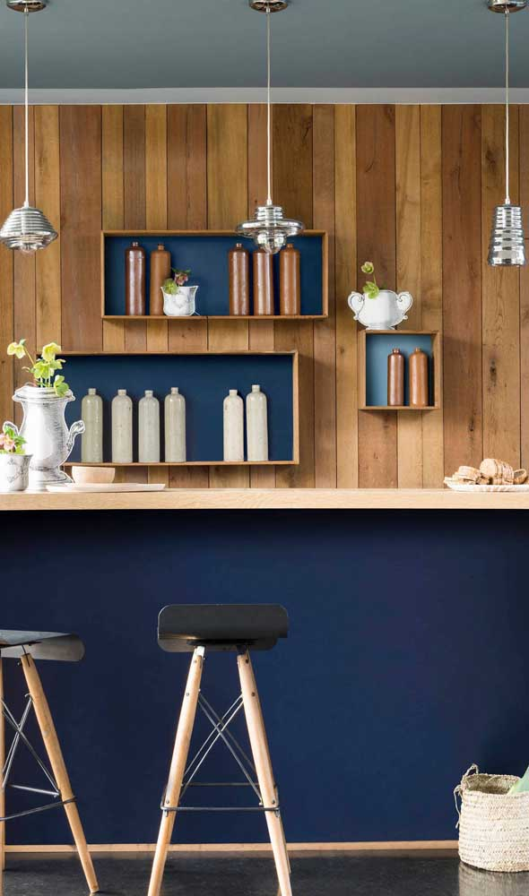 Que tal luminárias bem moderninhas para o bar da casa?