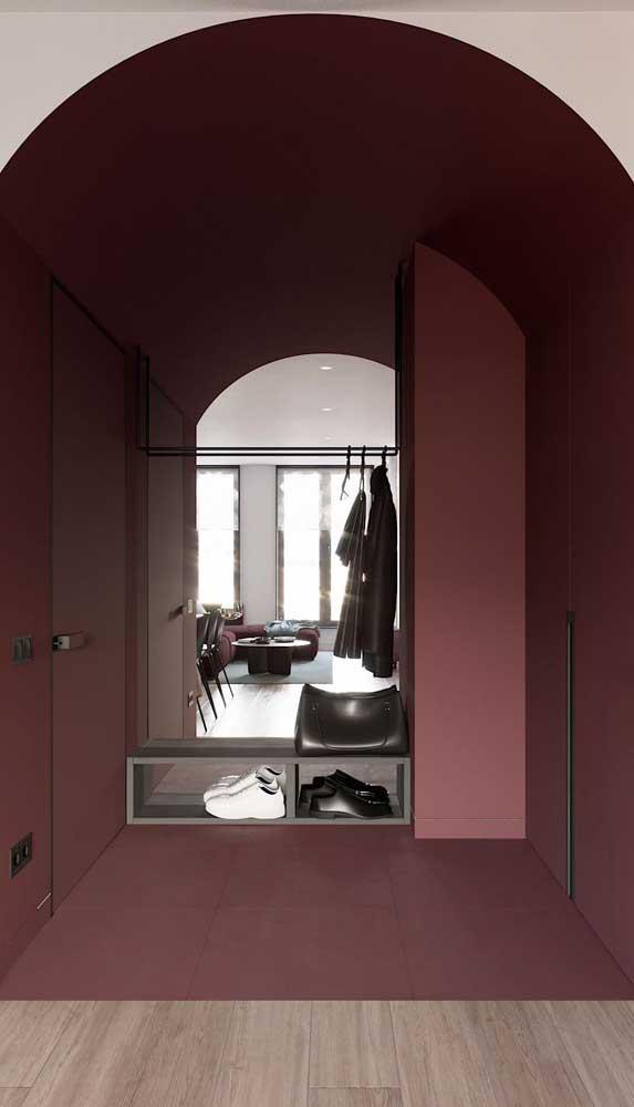 Que tal setorizar os ambientes da casa com o marsala?