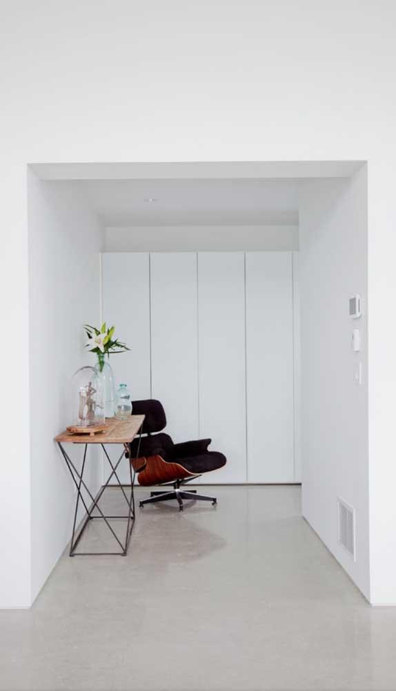 Cadeira giratória presidente para decorar e receber bem os moradores da casa