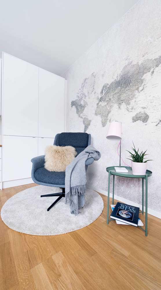 Cadeira giratória estilo poltrona: perfeita para sala de estar