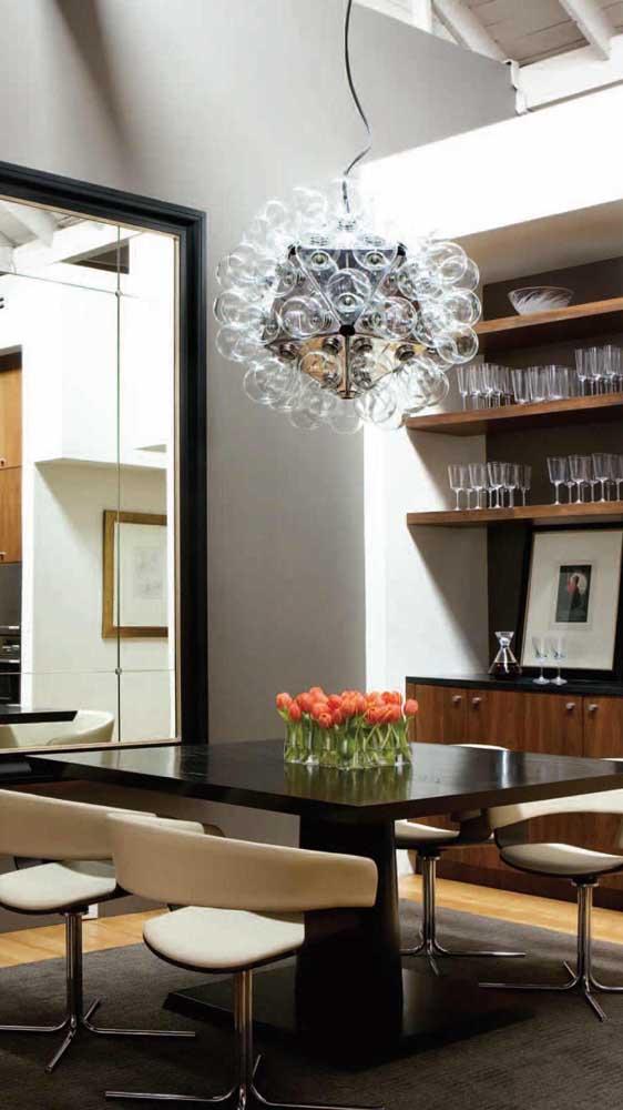 As cadeiras giratórias também são um exemplo de elegância e sofisticação