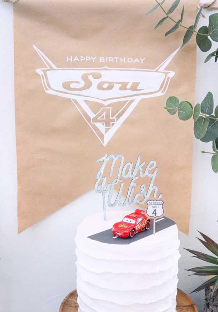 O bolo tema carros deve ser algo inesquecível.