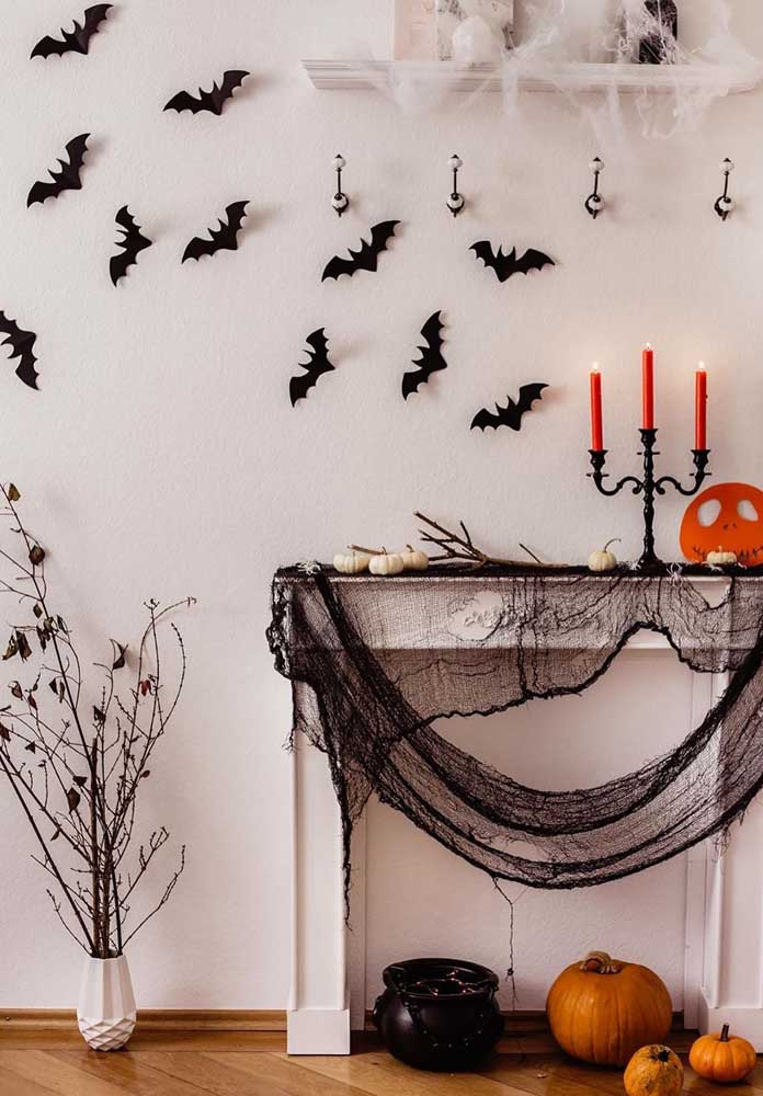 Morcegos de papel: eles podem ser tudo o que você precisava para completar a decoração de Halloween