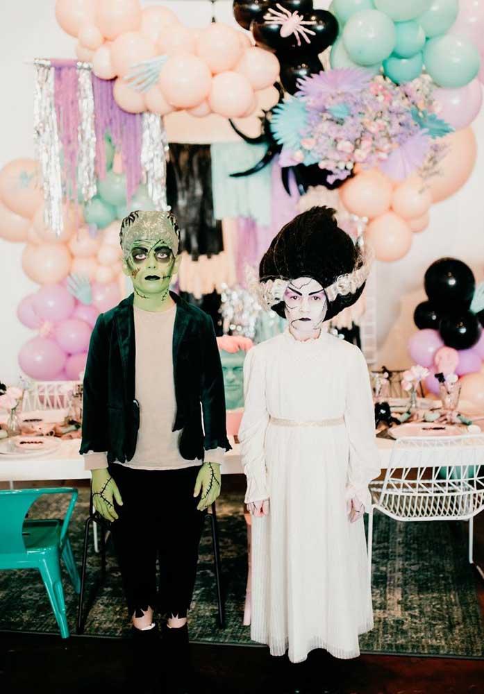 Mortiça e Frankenstein já chegaram por aqui!
