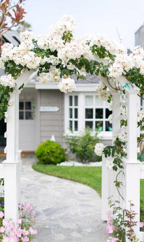 É ou não é a forma mais linda e delicada de receber as visitas?
