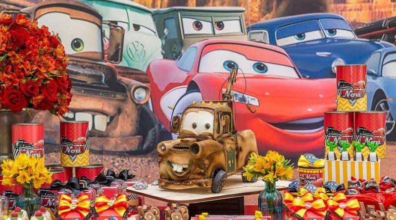 Festa Carros: veja como decorar com dicas e fotos inspiradoras