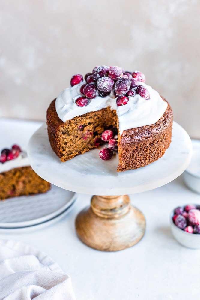 Um bolo de especiarias para encher o natal de aromas deliciosos