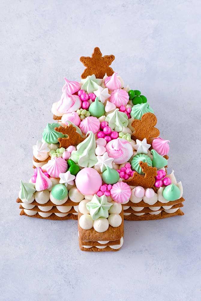Ou quem sabe um bolo de suspiros e merengue?