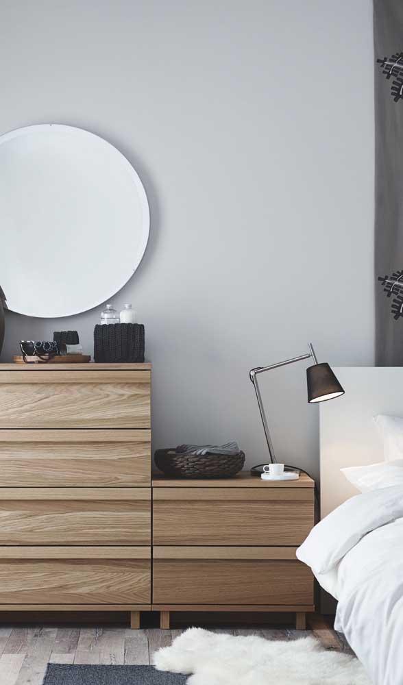 Móveis multifunções são a melhor opção para quartos pequenos