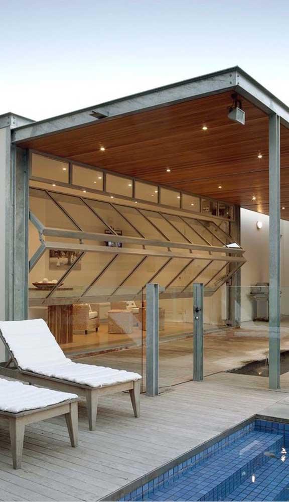 O alumínio e o vidro formam a melhor combinação entre estética e funcionalidade