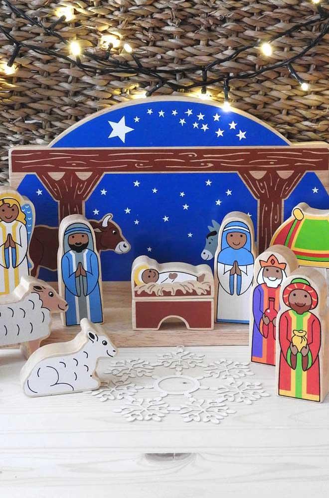 Lembre-se: a tradição cristã diz que os elementos do presépio devem ser inseridos pouco a pouco no cenário