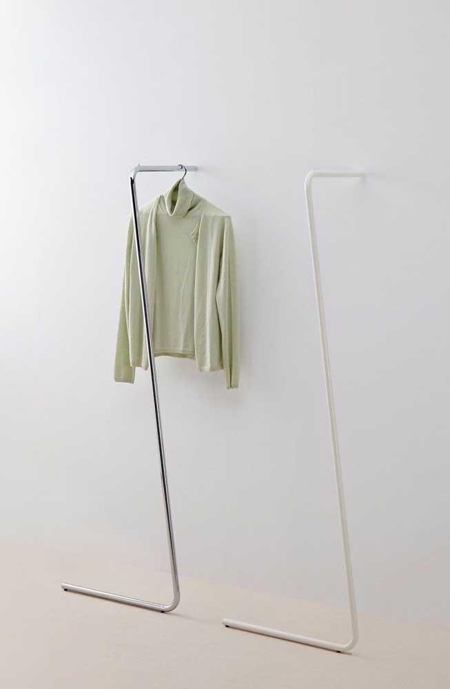 Arara dupla para um casal de minimalistas