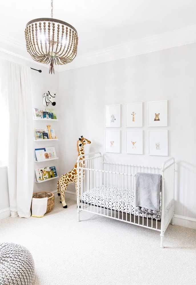 Quarto de bebê Off White: lugar perfeito para usar a cor