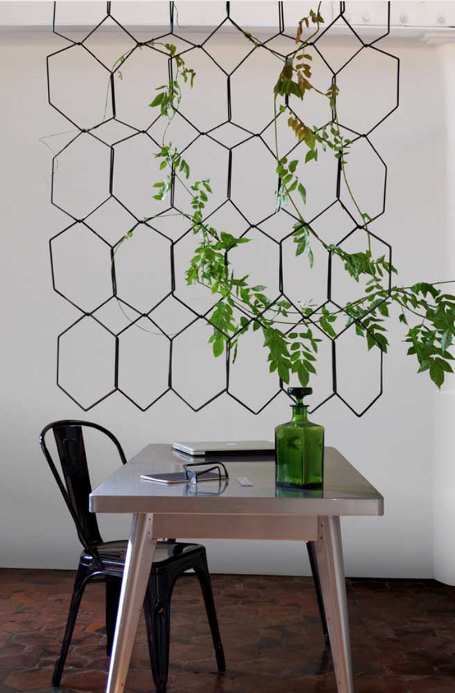 Mais que um suporte para plantas, um diferencial na decoração