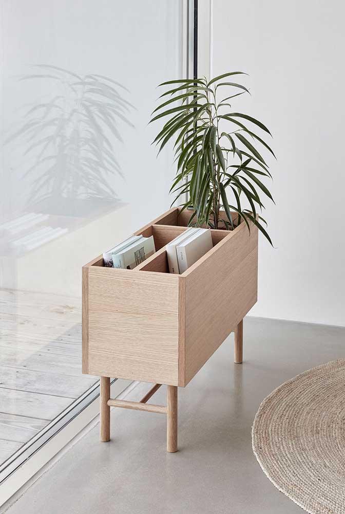 Para as plantas e para os livros