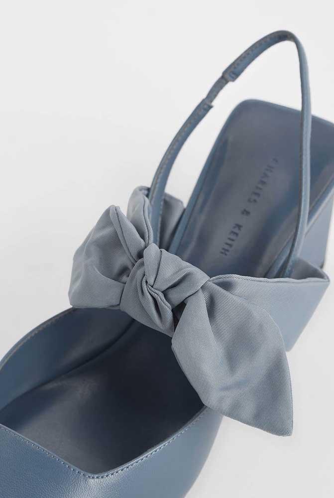 Até os sapatos tiram proveito da beleza, resistência e versatilidade dos laços de gorgurão