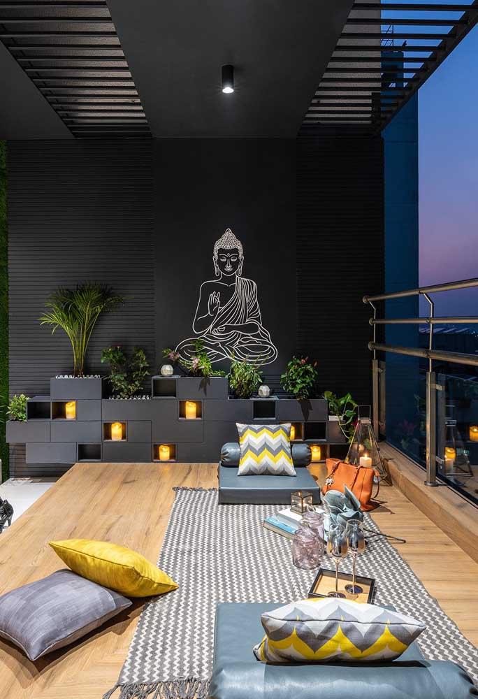 Terraço zen