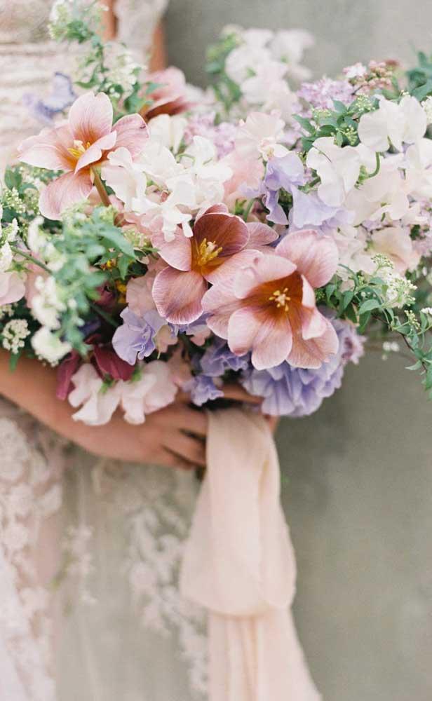 Escolha suas flores preferidas e monte seu próprio buquê