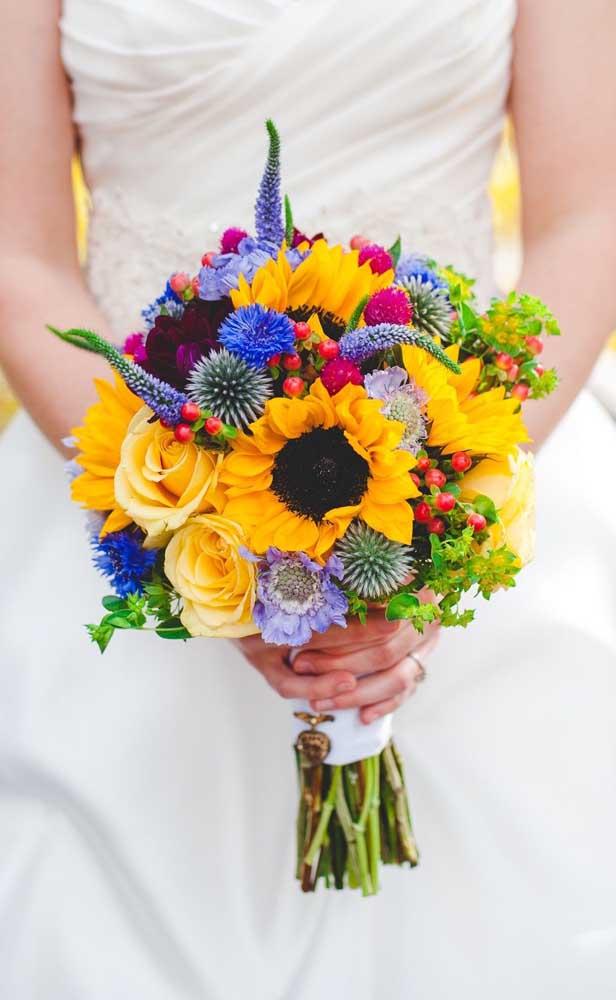 Flores rústicas e exóticas para um buquê cheio de vida e energia