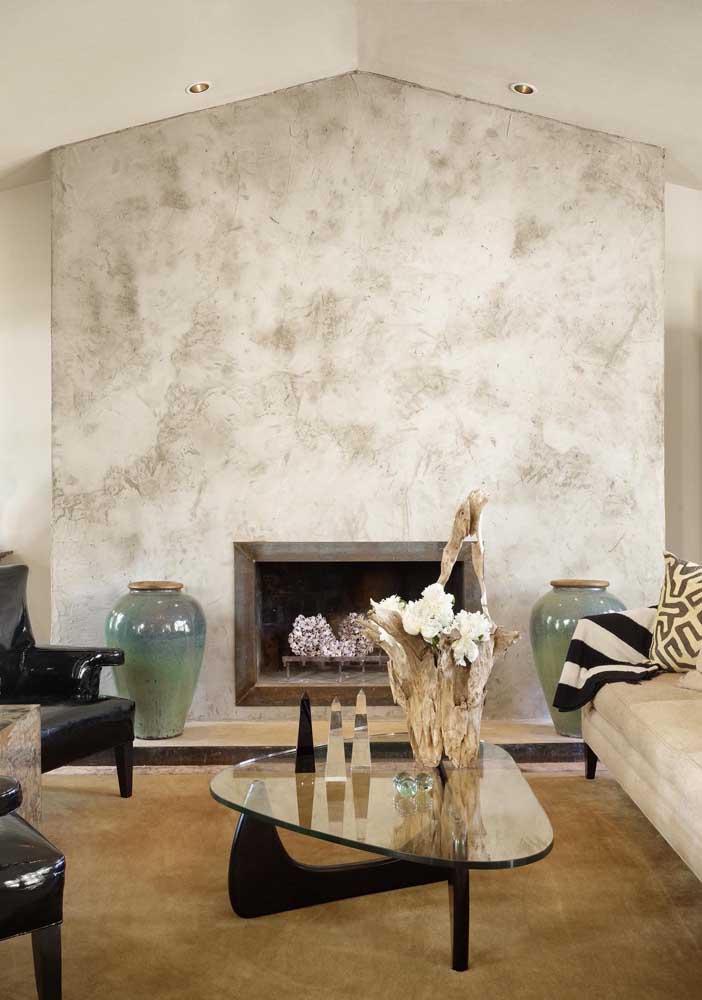 Textura para a parede da lareira