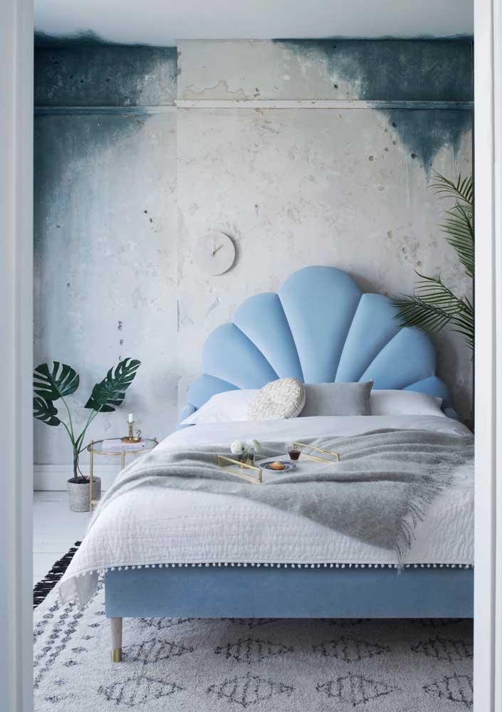 O efeito desgastado é o charme dessa textura de parede criativa