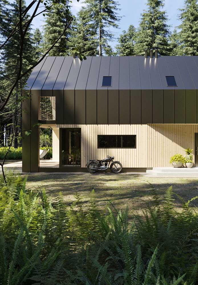 Projetos modernos são a cara das telhas ecológicas