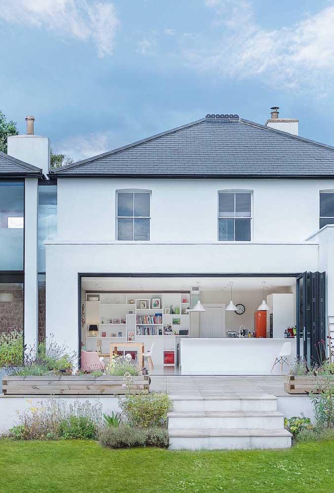As telhas ecológicas permitem inúmeras variações de estilo e projetos