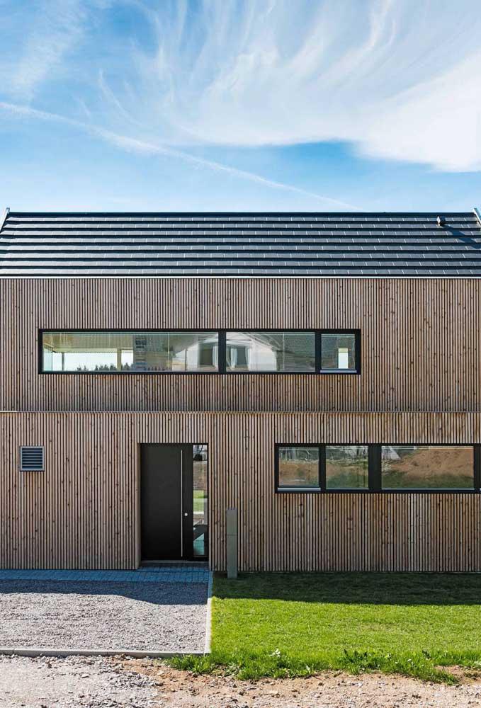Essa casa é um carinho no coração de quem ama construções sustentáveis