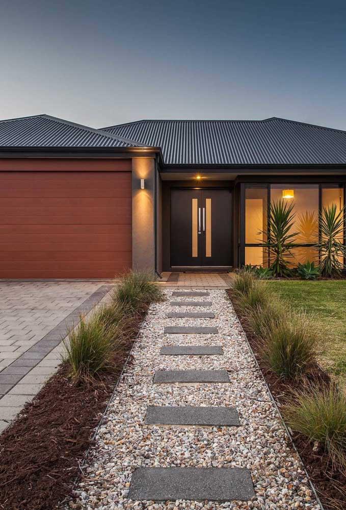 A baixa absorção de água torna o telhado ecológico ainda mais leve