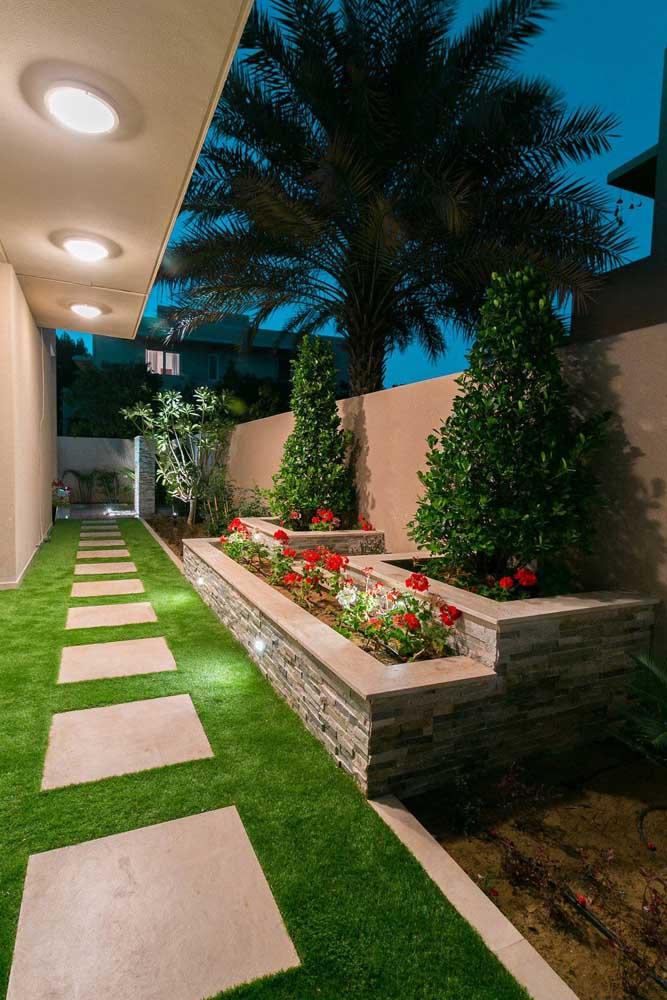 Jardim residencial pequeno, mas indispensável!