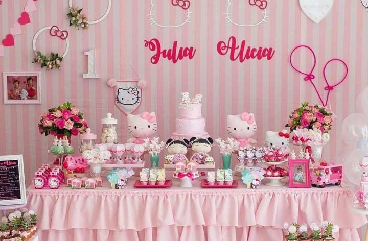 Festa Hello Kitty: história, personagens, como fazer e fotos inspiradoras