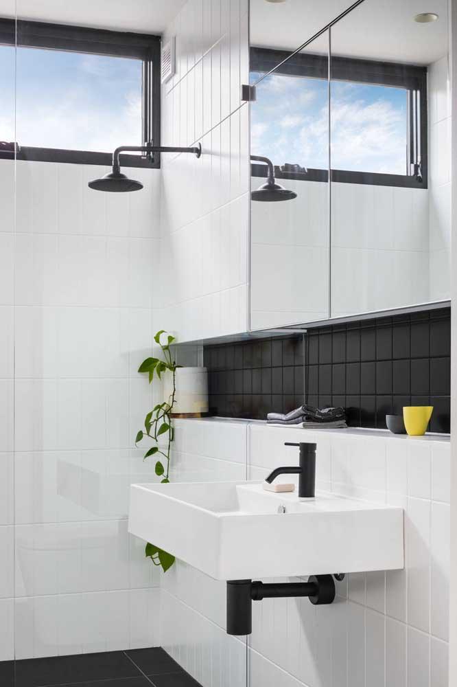 Tinta para azulejo branca e preta: clássico, elegante e sofisticado